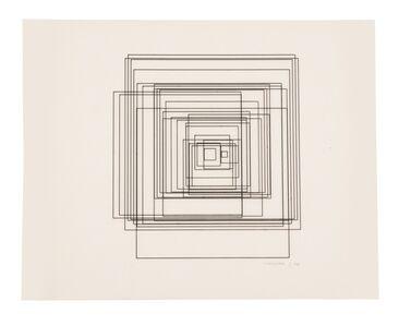 Vera Molnar, 'Untitled (3)', 1974