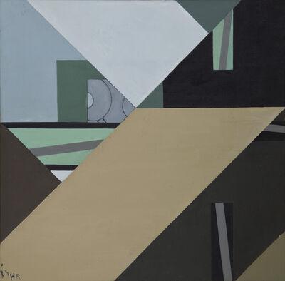 Huang Rui 黄锐, 'Courtyard in Summer No. 1', 1983