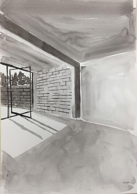 Sara Berman, 'Ink Rooms 1', 2017