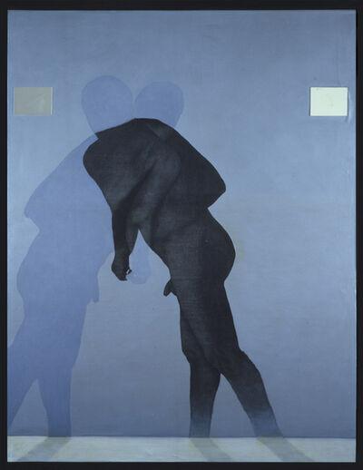 Carlo Alfano, 'Senza titolo (figura blu)', 1985