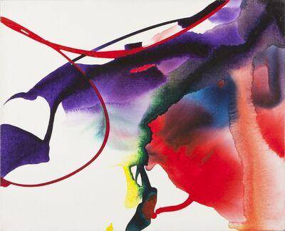 Paul Jenkins, 'Phenomena Red Arrested', 1965