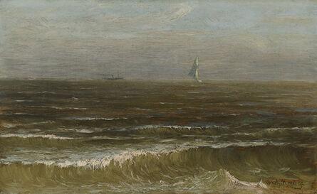 Worthington Whittredge, 'Homeward Bound', Mid 19th century