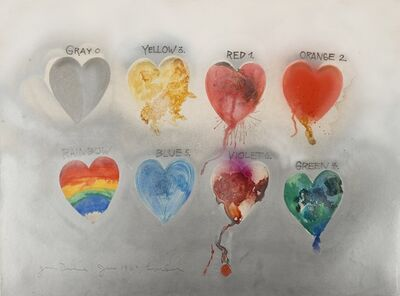 Jim Dine, 'Hearts', 1969