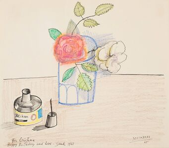 Saul Steinberg, 'For Christina', 1968