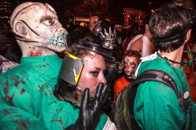 Norman Borden, 'Amazement, Halloween Parade'