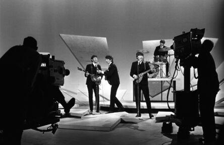 Harry Benson, 'Beatles on Ed Sullivan, (Cameras Showing), NYC', 1964