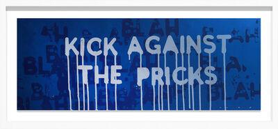 Mel Bochner, 'Kick the pricks', 2018