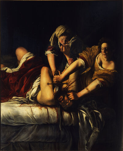Artemisia Gentileschi, 'Judith and Holofernes', ca. 1620