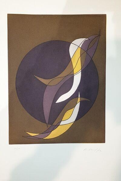 Roberto Crippa, 'Plate VI from Suns/Landscapes', 1970's