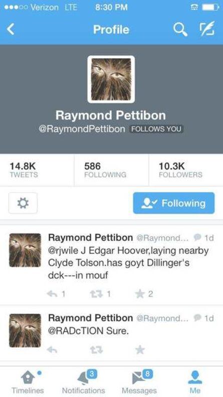 Richard Prince, 'Profile (Raymond Pettibon),', 2014