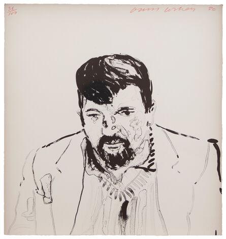 David Hockney, 'John Hockney', 1981