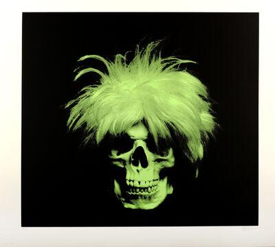 Ron English, 'Figment (Green On Black)', 2011