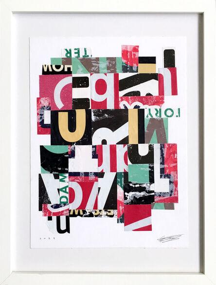 Saïd Kinos, 'Letter Study 2.3', 2018