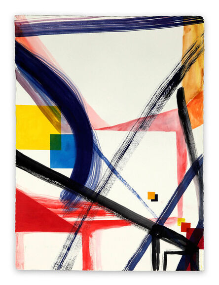 Laura Newman, 'Diagram (Abstract Expressionism painting)', 2014