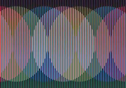 Carlos Cruz-Diez, 'Color Aditivo Gerardo', 2011