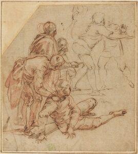 Battista Franco, 'Spectators Amazed', 1540s