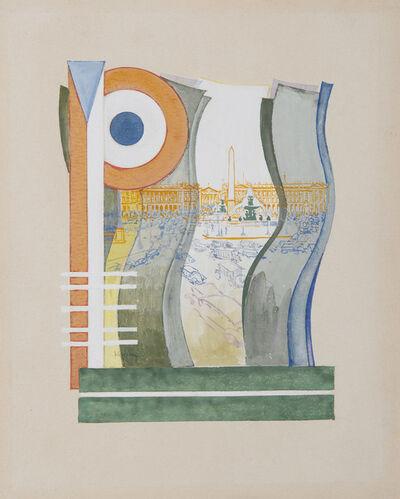 František Kupka, 'Paris, Place de la Concorde. ', 1919-1920