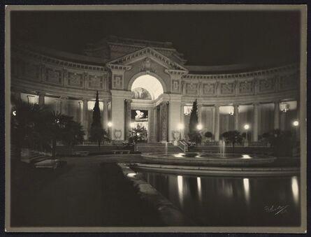 Willard Worden, 'The Court of Palms at Night', 1915