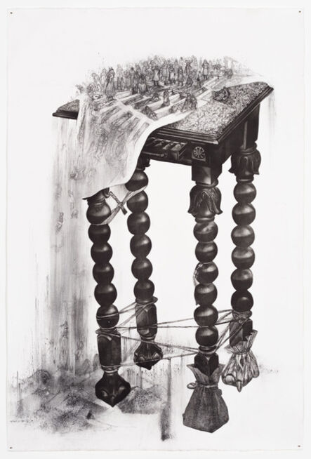 Diane Victor, 'Sweeping the Table', 2018