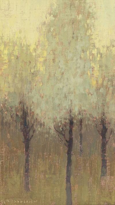 David Grossmann, 'White Trees at Dawn', 2010-2015