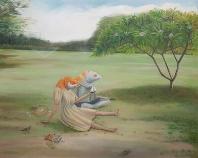 Wing Lam Ngai, 'The May Flower: Frangipani  ', 2021