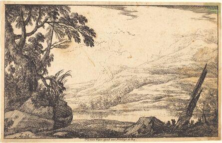 Laurent de La Hyre, 'Mountainous Landscape', 1640