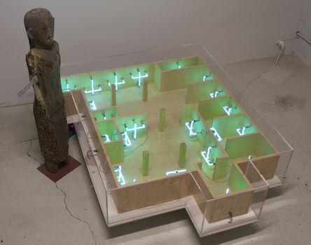 Sarkis, 'Conversation entre mon atelier et Joraï', 2001