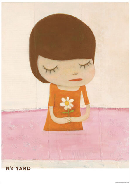 Yoshitomo Nara, 'In The Pink Water', 2021