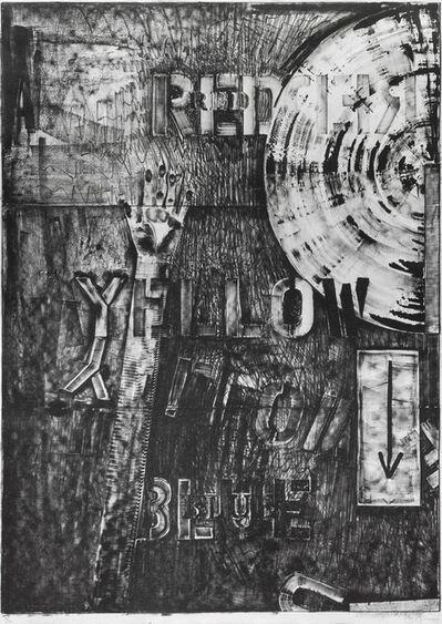 Jasper Johns, 'Land's end', 1979
