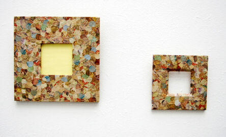 Meschac Gaba, 'Du mur à la toile - Couleurs de Cotonou (32)', 2008