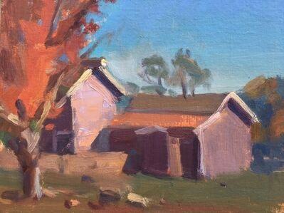 Pratima Rao, 'Fall Light, Longstreet Farm, NJ (Plein Air)', 2019