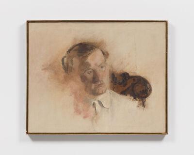 Larry Rivers, 'Portrait of a Man (John Bernard Myers)', 1953-54
