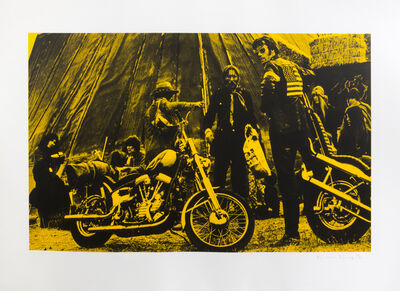 Russell Young, 'Easy Rider (Yellow)', 2007
