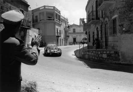 Jesse Alexander, 'Ferrari GTO in the Targa Florio, Sicily, Italy', 1962