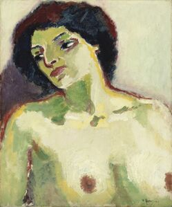 Kees van Dongen, 'Portrait de femme en buste', 1911