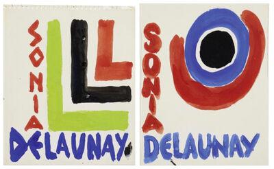 Sonia Delaunay, 'Project de couverture', 1969