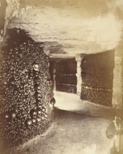 Nadar, 'View in the Catacombs', 1861
