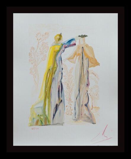 Salvador Dalí, 'Divine Comedy Purgatory Canto 27', 1960