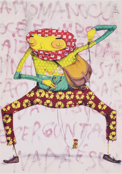 OSGEMEOS, 'Juxtapoz poster', 2008