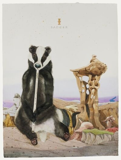 Scott Kelley (b. 1963), 'Badger - The Ah-Shi-Sle-Pah Orchestra', 2021