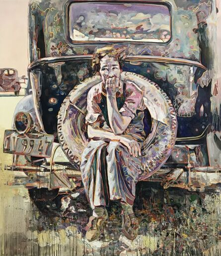Hung Liu 刘虹, 'Spare Tire', 2018
