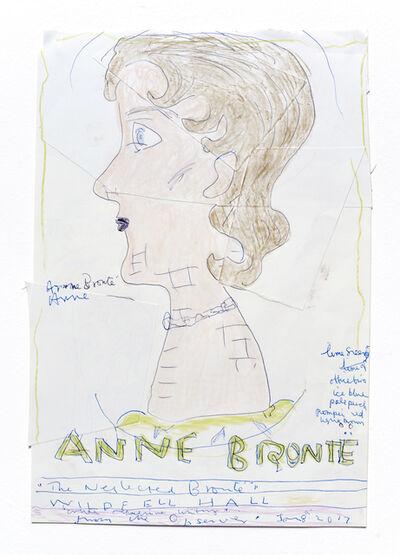 Rose Wylie, 'Anne Bronte', 2016