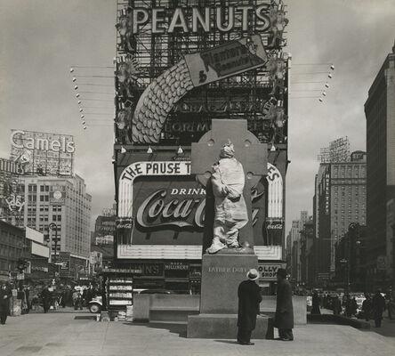 Peter Sekaer, 'Times Square, New York', 1937