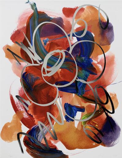 Jeff Koons, 'Flower Drawing', 2019