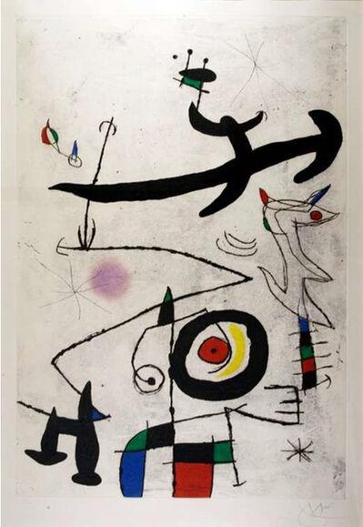 Joan Miró, 'Village D'Oiseaux', 1969