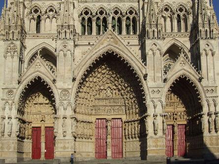 'Amiens Cathedral: Portals, west façade', ca. 1220-36/40