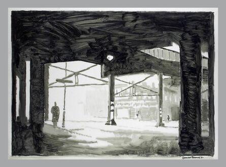 Duncan Hannah, 'Under the El', 1991