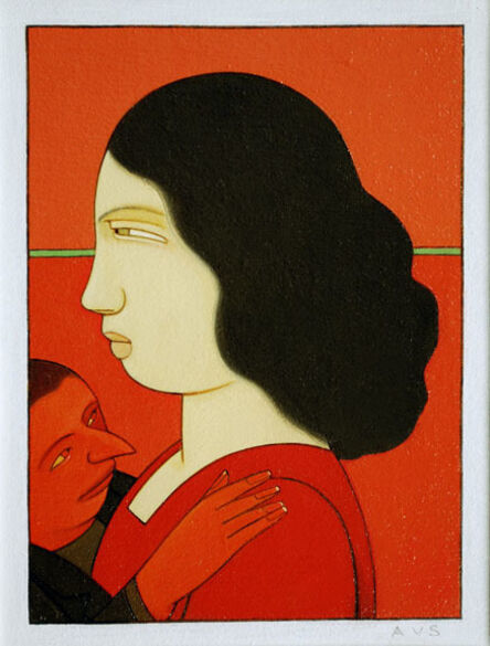 Andrew Stevovich, 'Lola with Demon', 2012