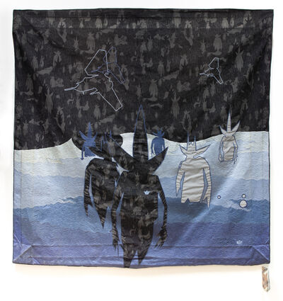 Futura x Maharashi, 'Tidal Pointman (black)', ca. 2000