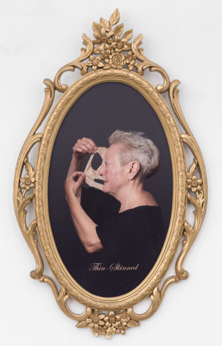 Martha Wilson, 'Thin-skinned', 2014